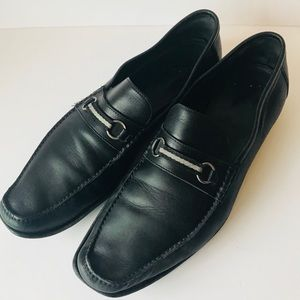 Bally Men's Black Loafers Size 12D